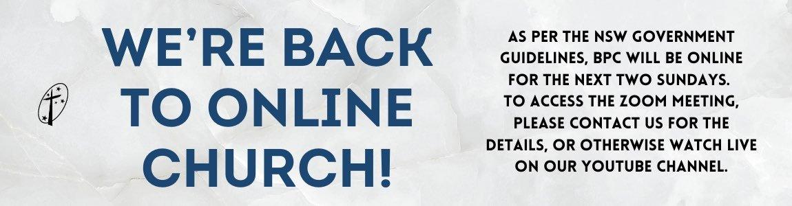 Online Service Notice